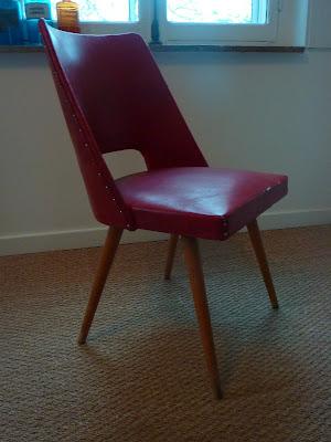 chaise vintage Lille Pevele