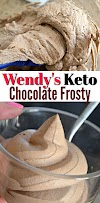 Keto Wendy's Chocolâte Frosty