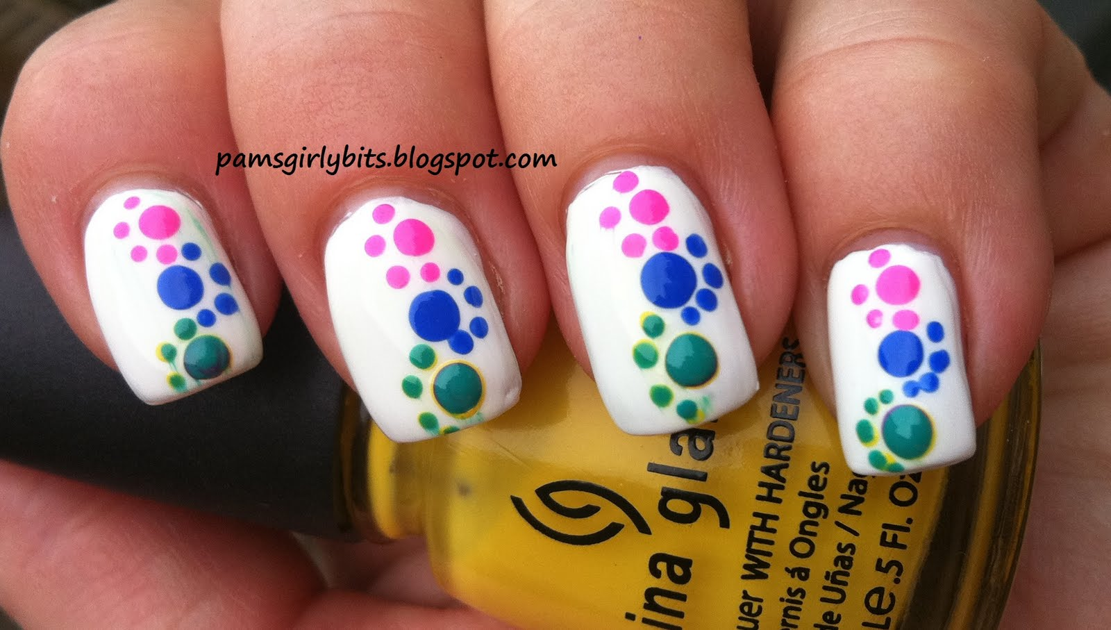 Girly Bits Fun With Dots Nail Art