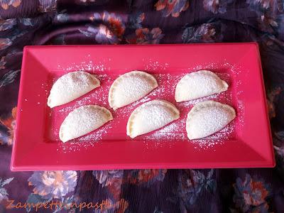 Ravioli alla Nutella - Biscotti con pasta frolla alla ricotta