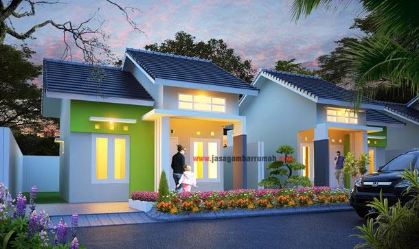 gambar warna cat rumah minimalis