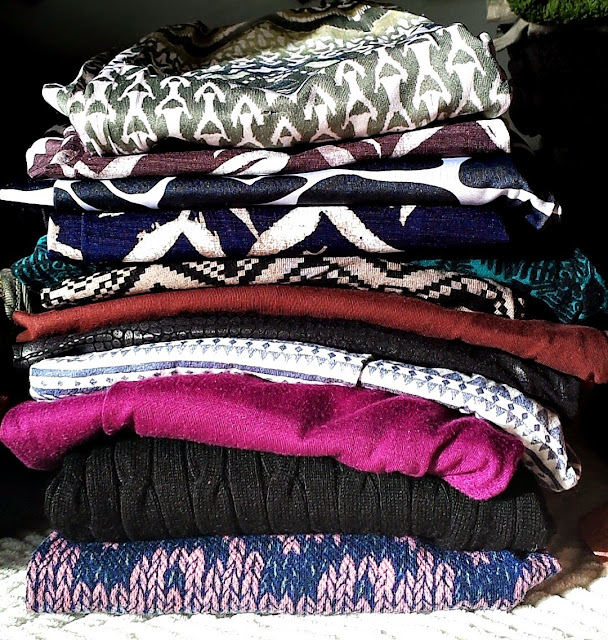 My collection of leggings