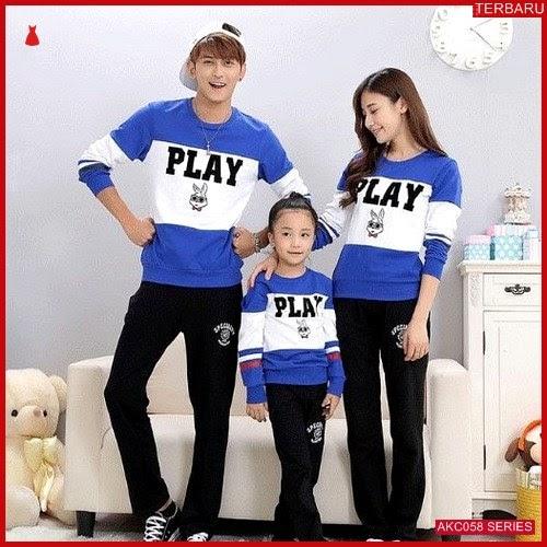 AKC058S70 Sweater Couple Anak 058S70 Keluarga BMGShop