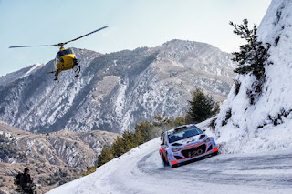 Thierry Neuville Rally Monte Carlo 2015