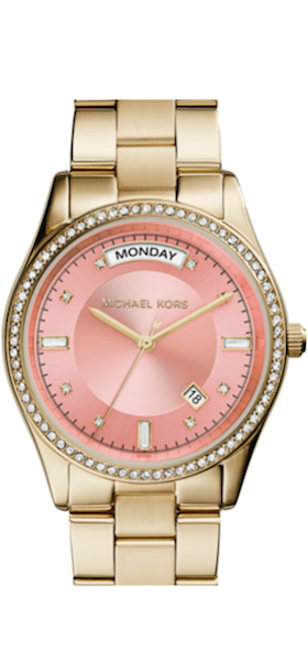 Michael Kors 'Colette' Round Bracelet Watch