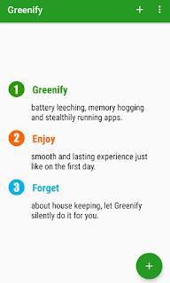Greenify Add Apps