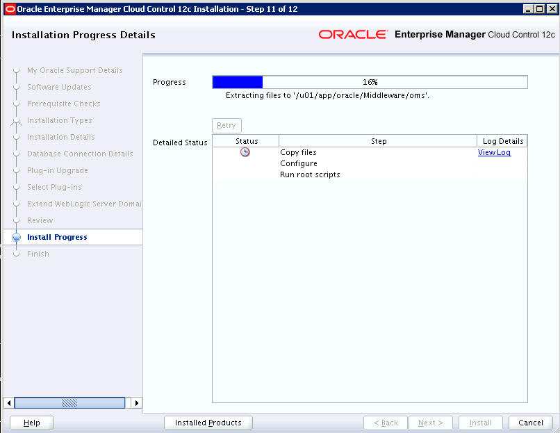 Oracle Enterprise Manager Cloud Control 12c Release 3 Upgrade
