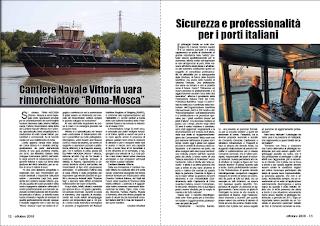OTTOBRE 2018 PAG.13 - Sicurezza e professionalità per i porti italiani