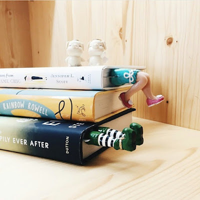 Separador de libros muy creativo
