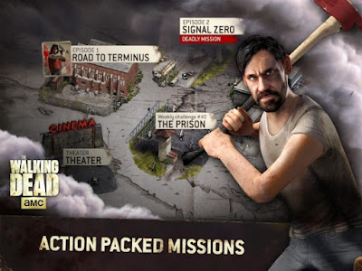 The Walking Dead No Man's Land action packed missions