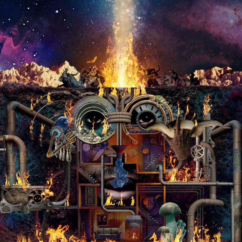 Flying Lotus - Fire Is Coming feat. David Lynch   Album Ankündigung und privates von mir