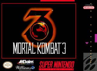 Mortal Kombat 3  (BR) [ SNES ]