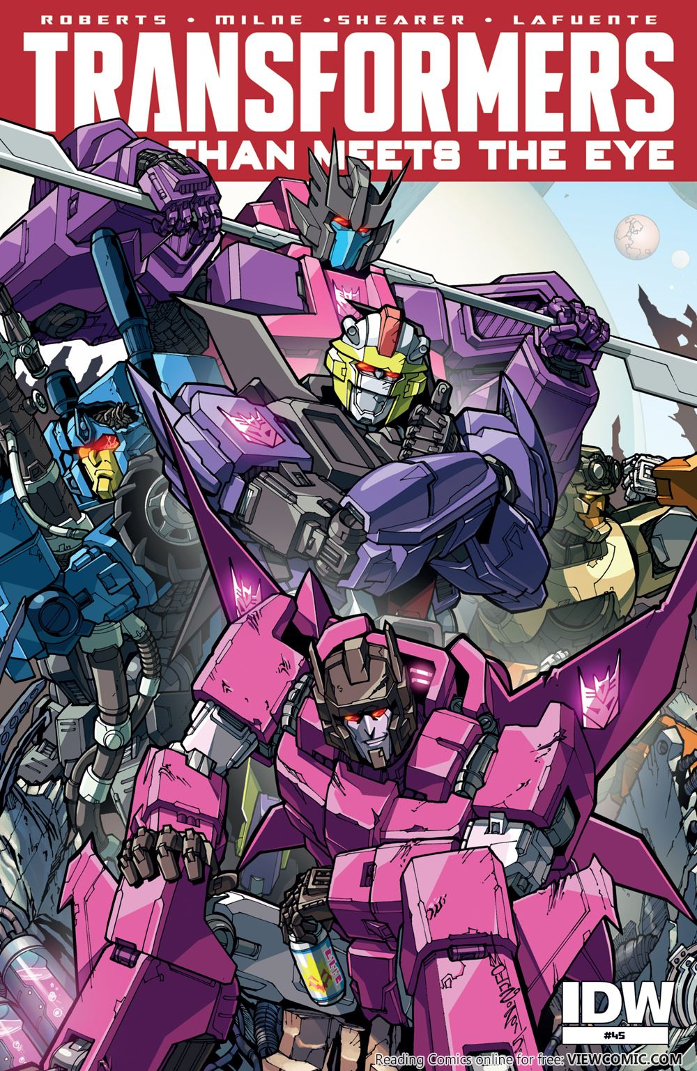 The Transformers – More Than Meets the Eye | Viewcomic reading