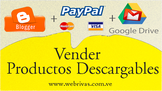 Vender Productos Descargables con Blogger