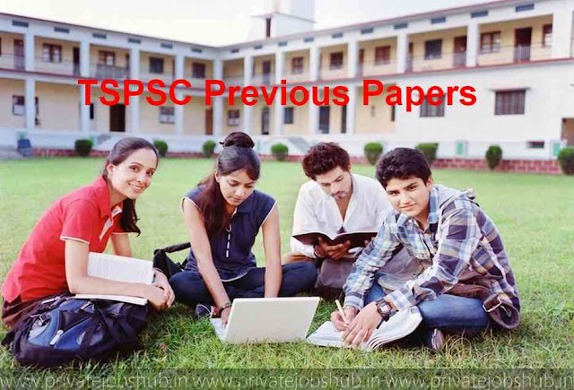 TSPSC Previous Papers