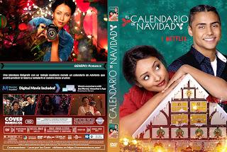 CARATULA COVER The Holiday Calendar - EL CALENDARIO DE NAVIDAD [COVER DVD]