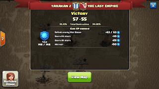 Clan TARAKAN 2 vs THE LAST EMPIRE, TARAKAN 2 Win