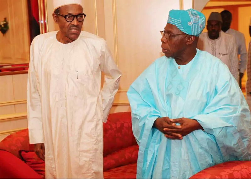 They also said I died 12 times - Obasanjo reacts to Buhari death rumors