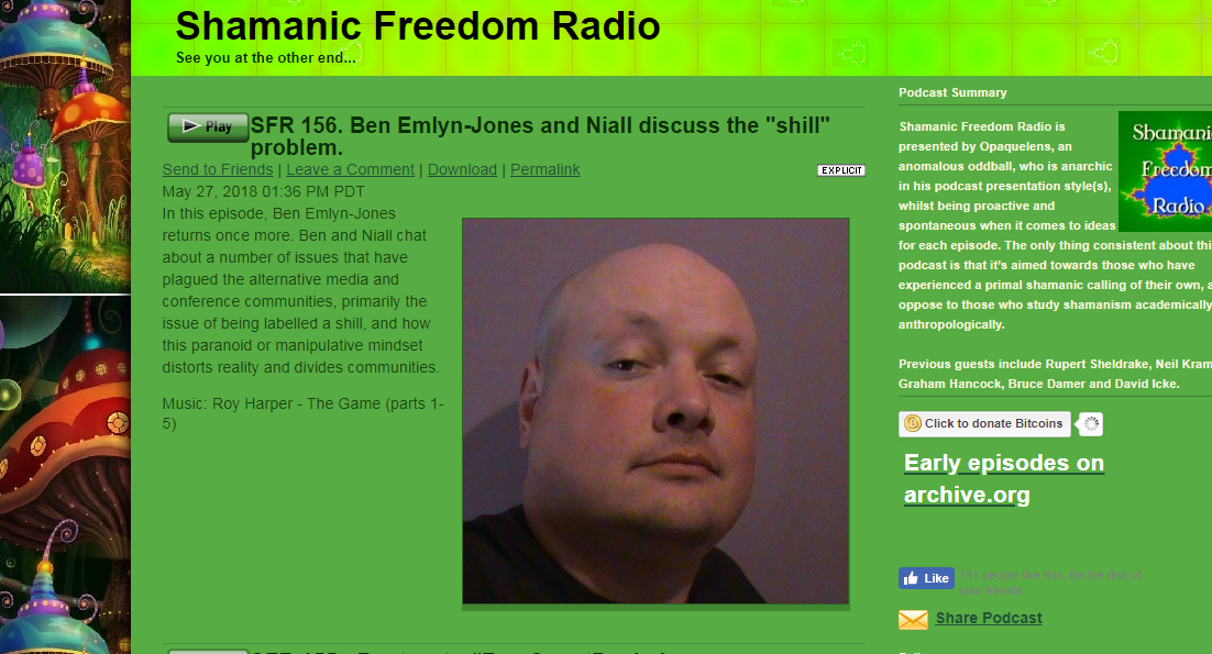 HPANWO Voice: Ben Emlyn-Jones on Shamanic Freedom Radio 4