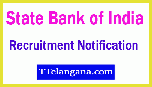 State Bank of India SBI Recruitment Notification