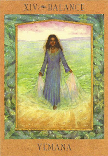 Tarot da Deusa Carta XIV Yemana