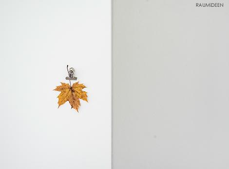 Herbstdeko pur - mit Blättern dekorieren!
