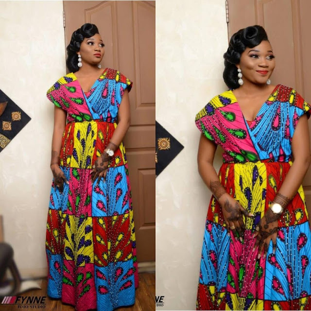 STYLE YOURSELF WITH THIS TRENDY ANKARA DRESSES