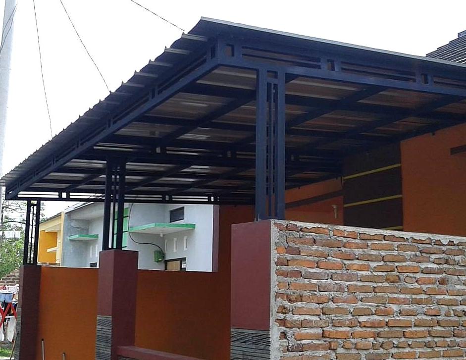 Kanopi Baja Galvanis Jasa Pasang Canopy/ Citayam Bogor | Bengkel Las ...