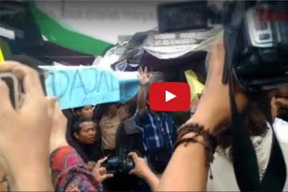 Ini Video Detik-detik Saat Ahok Ditolak Warga Rawa Belong, Kebon Jeruk, Jakarta Barat