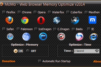 MoMo – Web Browser Memory Optimize v2014