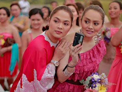 Judy Ann Santos And Angelika Dela Cruz At Jolina Magdangals Wedding