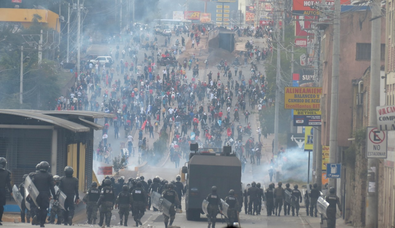 Israel é cúmplice da repressão ao povo hondurenho