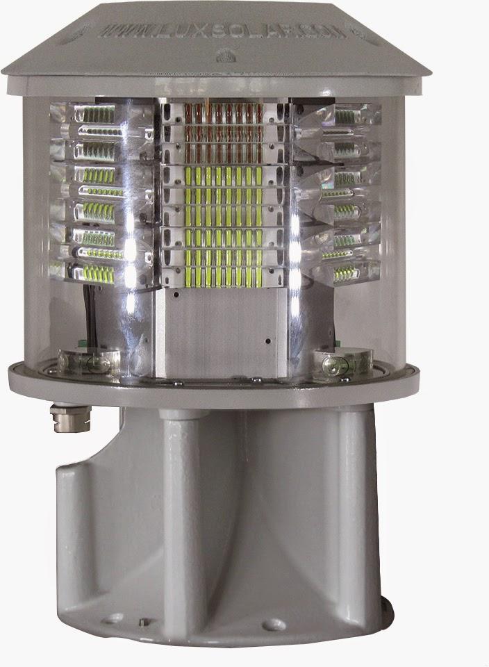 Luxsolar orta yoğunluklu ledli uçak ikaz lambaları
