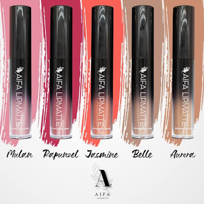Lipmatte Aifa Azlan, The Fairytale Princess Collection
