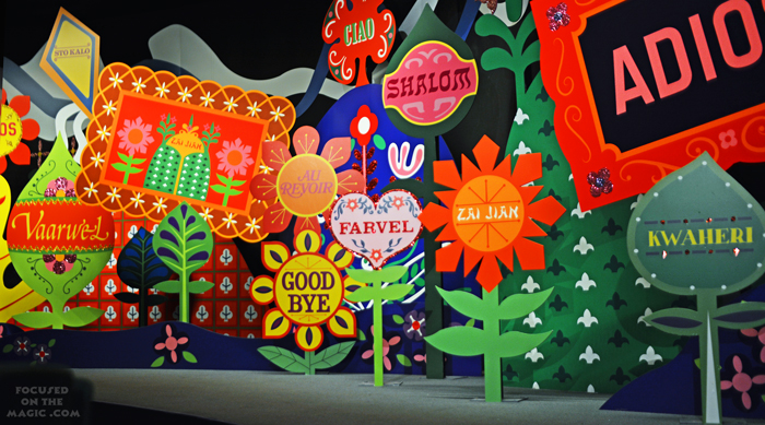 Magic Kingdom's It's a Small World Good-Bye Room
