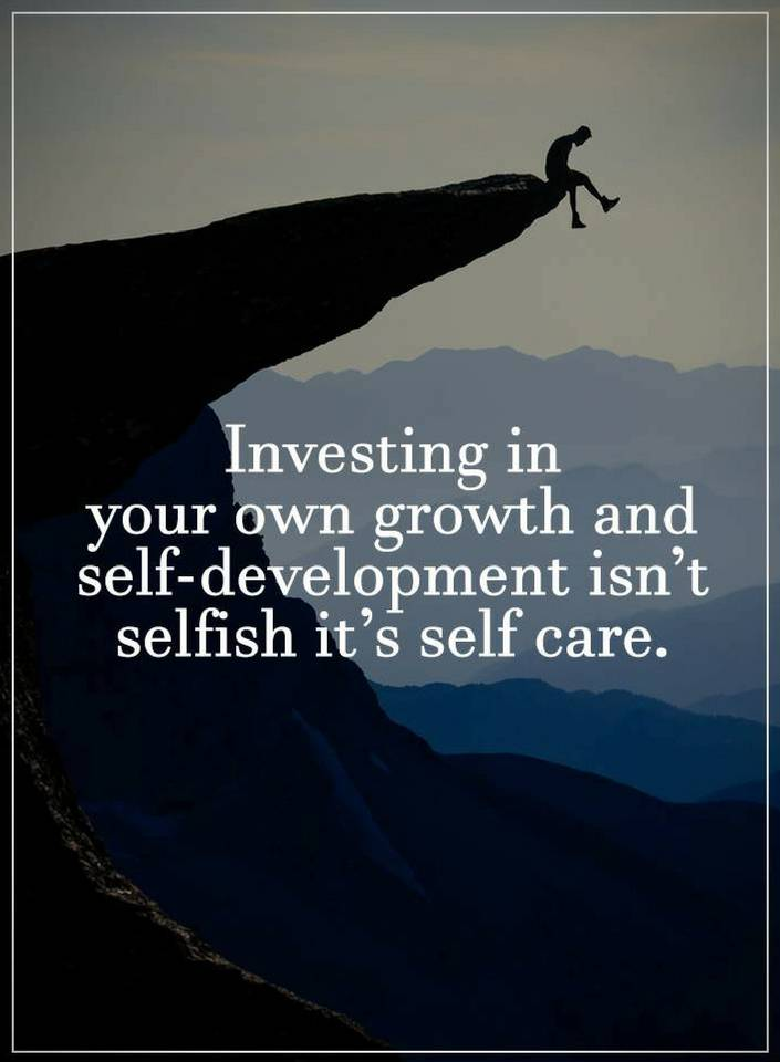 Quotes Investing in your own growth and self-development ...
