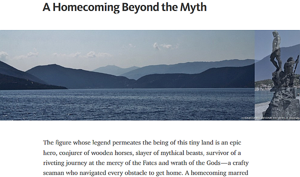 myth of Ithaca Greece