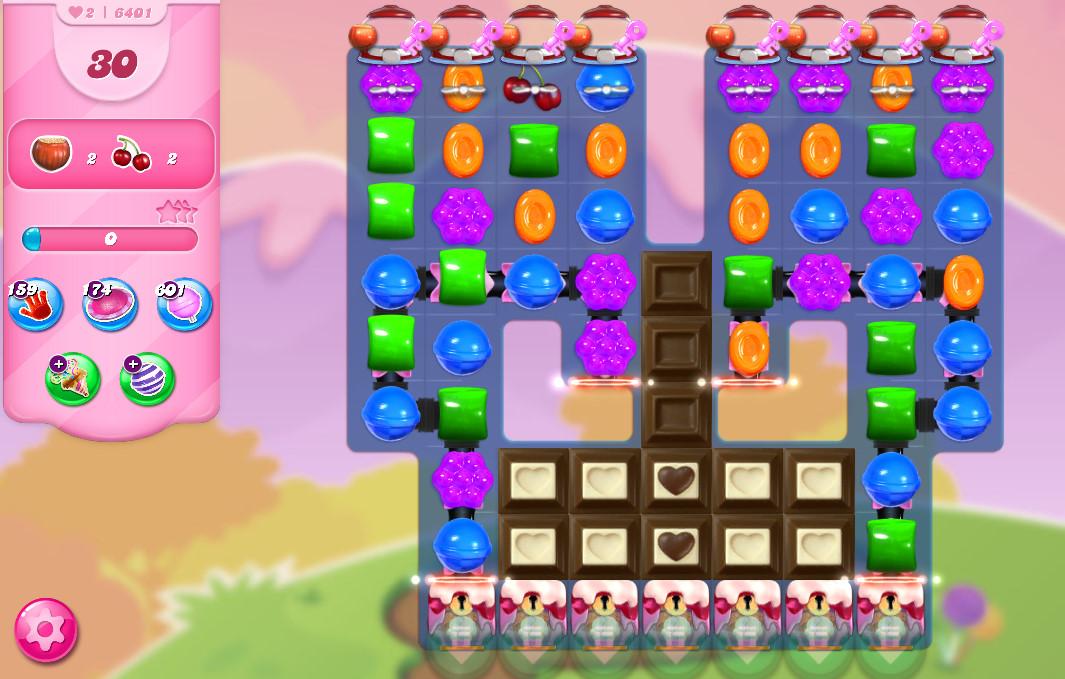 Candy Crush Saga level 6401
