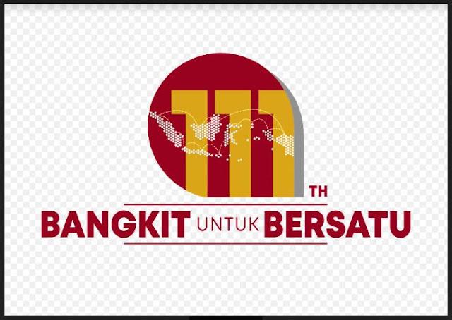 Logo Harkitnas Ke 111 Tahun 2019 BANGKIT untuk BERSATU, http://www.librarypendidikan.com/