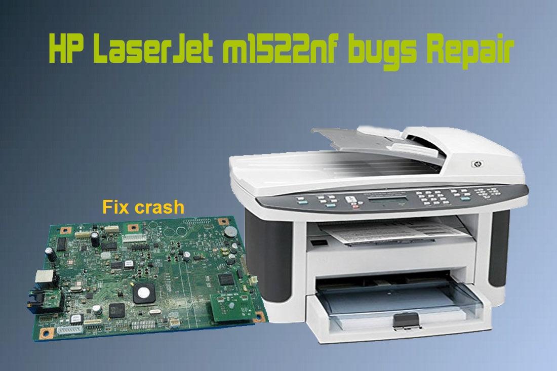 Hp laserjet m1522nf fix crash - TONERCOM