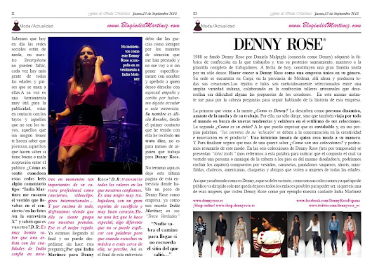 Denny Rose e India Martinez: Entrevista Exclusiva