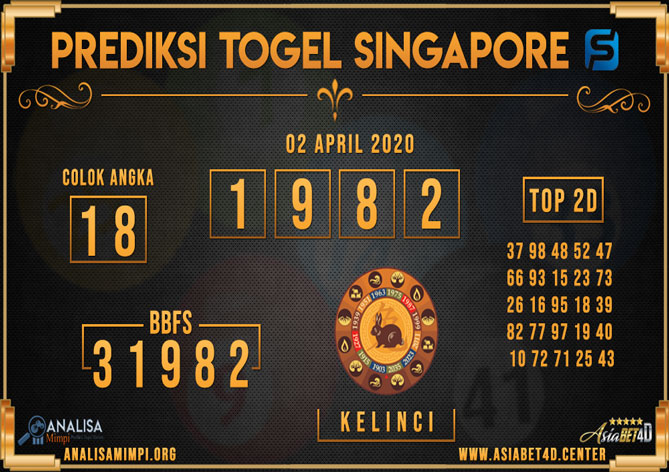 PREDIKSI TOGEL SINGAPORE ASIABET4D