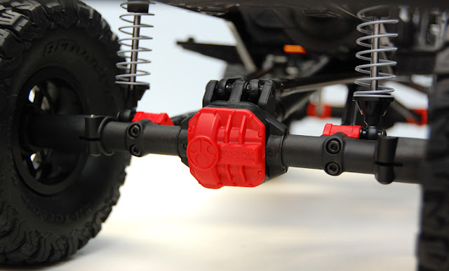 Axial SCX10 II rear axle