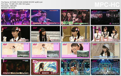 Download AKB48 SHOW! Ep 98 Subtitle Indonesia