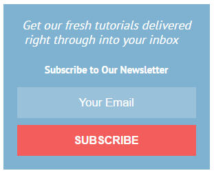 CSS3 Email Subscribe Widget