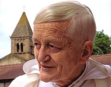 Frère Roger, fondateur de la communauté de Taizé