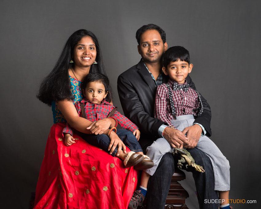Indian Family Portraits - SudeepStudio.com Ann Arbor Family Portrait Photographer