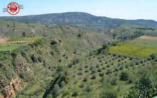 Valle del río Sellent en Chella