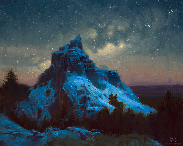 Good Sky over the Badlands by Rob Rey - robreyfineart.com