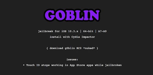 تحميل جيلبريك iOS 10.3.3 باستخدام G0blin